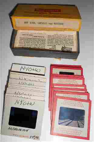 Alan Thomas Color Slides - NYO&W Ry 1957