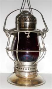 R. E. Dietz #39 Fire Department Bellbottom Lantern