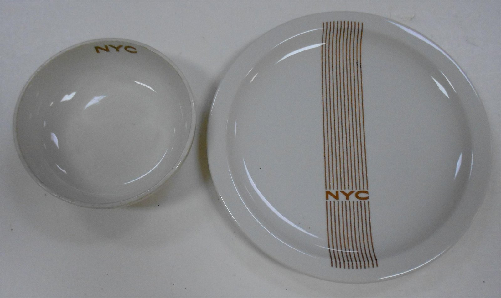 "New York Central ""Mercury"" China (2)"