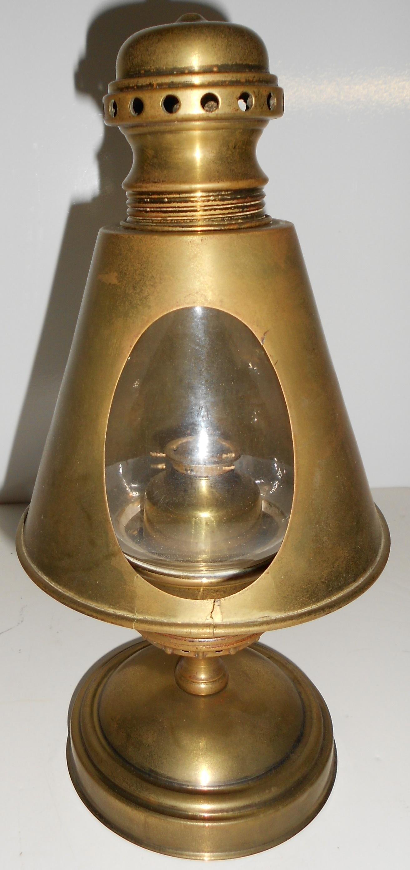 Baldwin Locomotive Works Brass Gauge Lamp