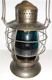 NYLE&W Brasstop Bellbottom Lantern Green Cast