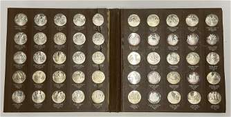 Franklin Mint History of American Rev. Silver Proof Set