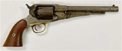 Remington New Model Army Revolver, 1858,