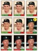 36 1961 & 1962 Topps Baseball, Detroit Tigers, etc.