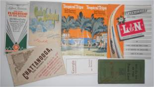South East Travel 1890 -> later Travel Folders