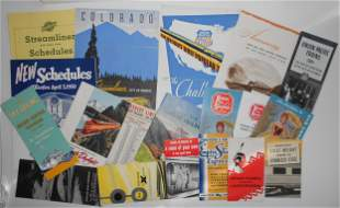Name Train & other Travel Folders & Timetables