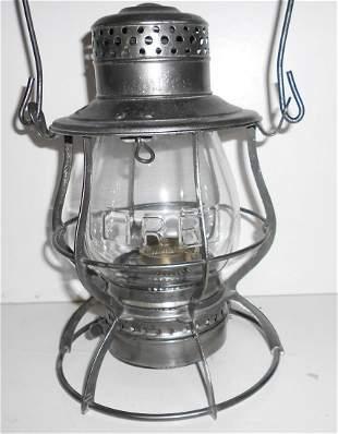 Keystone Casey LIRR Railroad Lantern Nice Globe!
