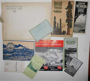 Railroad Travel Booklets - North West