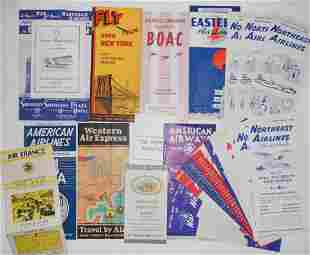Airline Timetables & Travel Folders