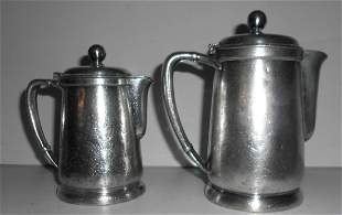Lackawanna Silver Coffee & Creamer