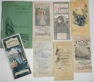 Hudson River / Catskills Travel Folders 1890-1900s