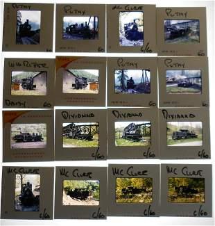 Alan Thomas Slides Geared Steam Locomotives