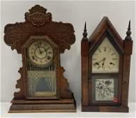 Steeple & Gingerbread clocks