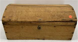 Pine Dome Top Trunk