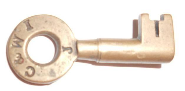 Chicago & Western Indiana Romer Switch Key