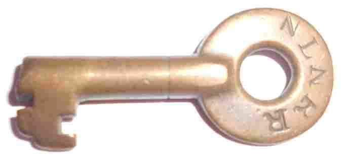 New London Northern Railroad Switch Key