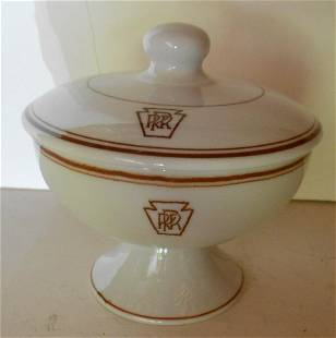 """Pennsylvania """"Keystone"""" China Cup with Lid"""