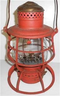 Philadelphia & Reading Brasstop Wire Bottom Lantern