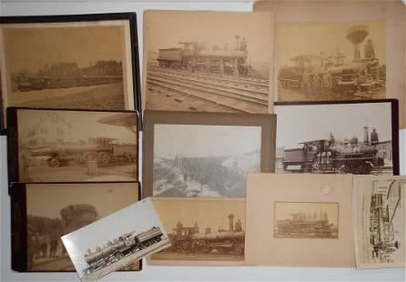 Locomotive & Crash Photographs - mounted (11)