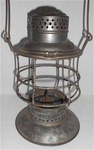 Rutland Railroad A&W Bellbottom Lantern Frame