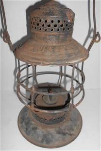 NY Ontario & Western A&W Bellbottom Lantern Frame