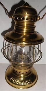 Pullman Brass Conductor Lantern - Palace Car Globe