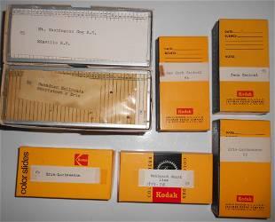 "7 boxes of ""36"" Slides: NE, Canada, EL"