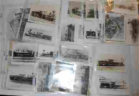 Notebooks of old Locomotive Photographs