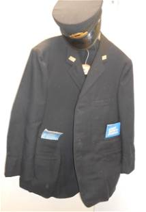 Penn Central Conductor's Uniform with Hat & Punch