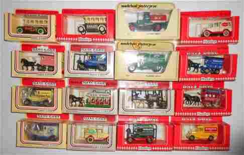 16 Lledo, Hamleys, Days Gone By Vehicles