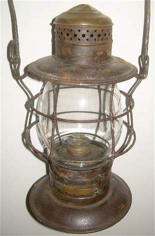 Eastern Railroad Brasstop Bellbottom Lantern