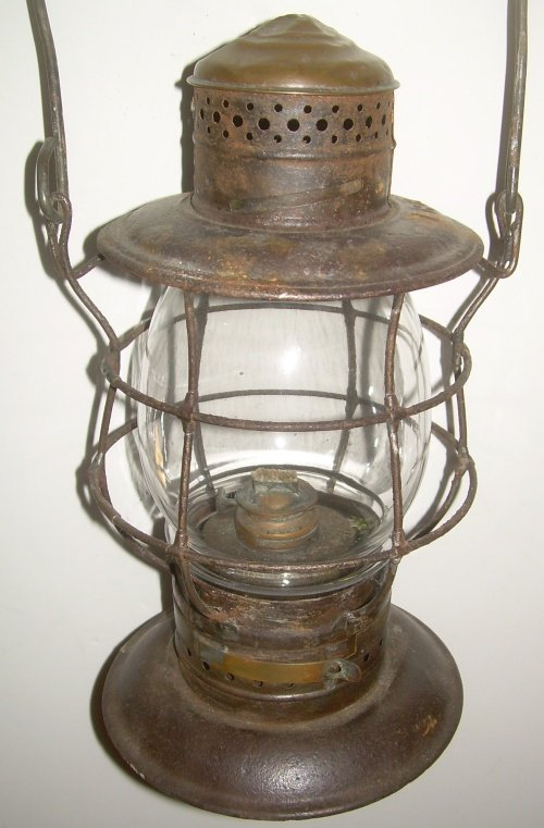 Eastern Railroad Brasstop Bellbottom Lantern