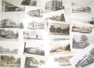 42 Trolley Photographs: Pittsburg, York, etc