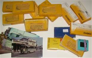 450+ Foreign Railroad, Trolley Transit Slides