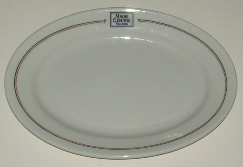 "Maine Central ""Bangor"" pattern China Platter"