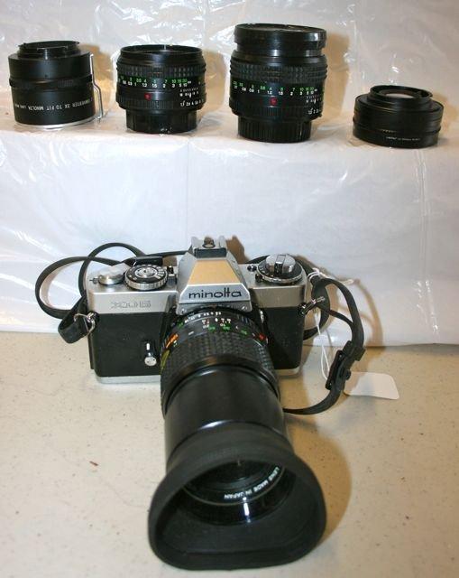 Minolta XD5 Camera