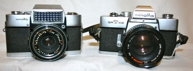 Minolta Cameras