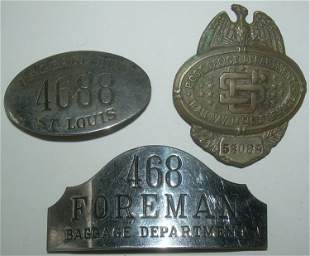 3 Badges: St Louis, RPO, Foreman