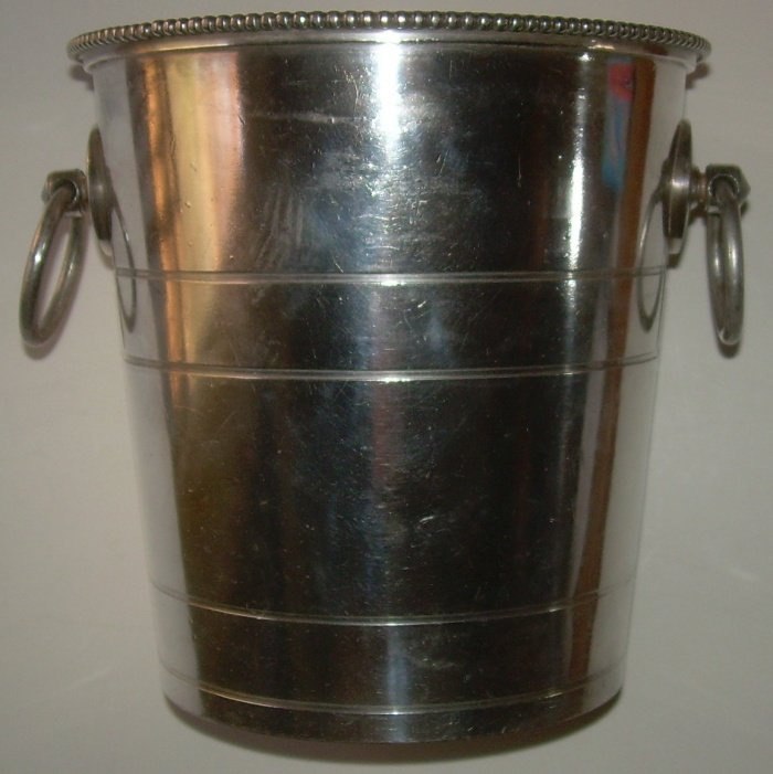 New Haven Silver Ice Bucket