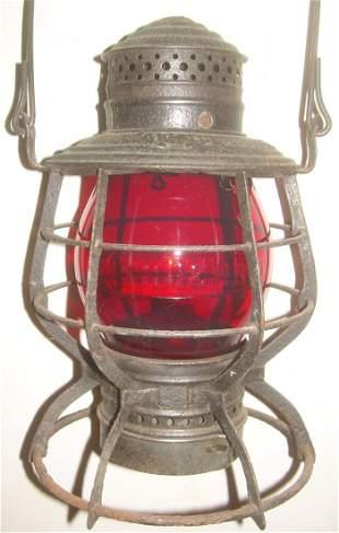 New Haven Red Cast Railroad Lantern