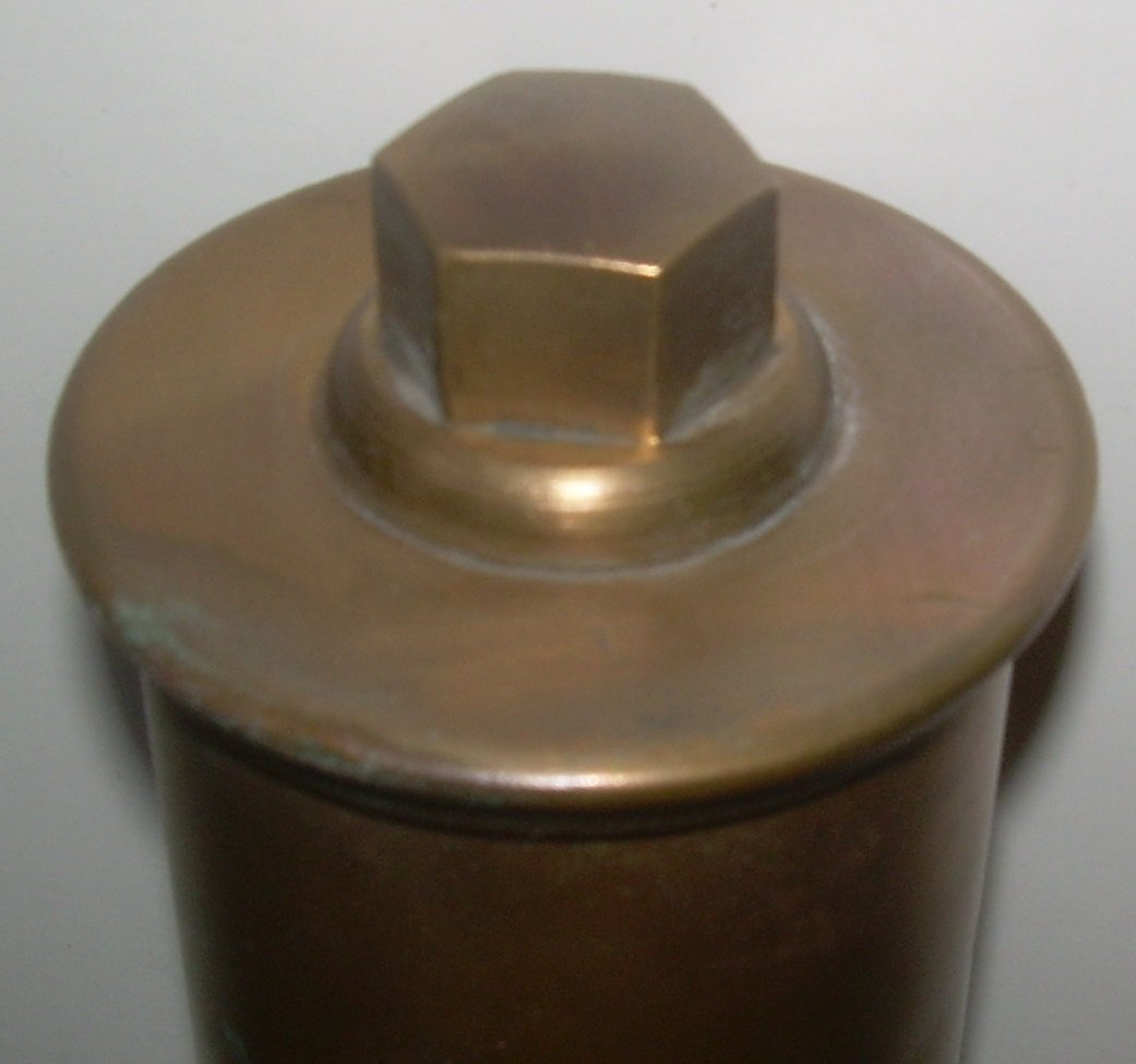Brass 3 Chime Whistle - Crosby Steam Co. Boston - 2
