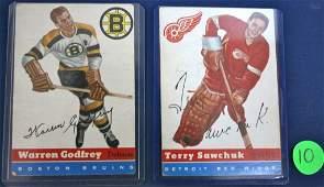 2 Hockey Cards
