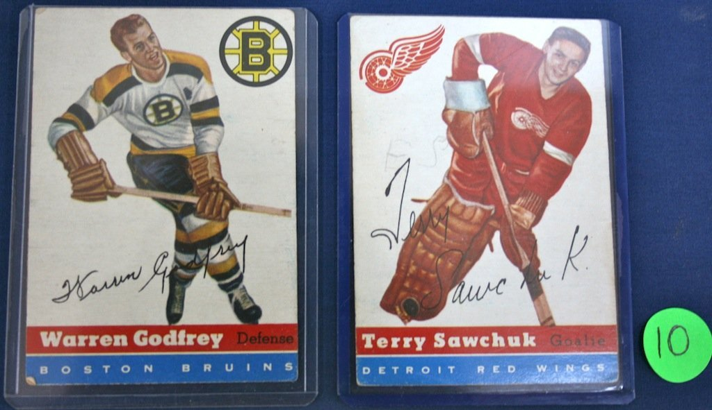 2 Hockey Cards