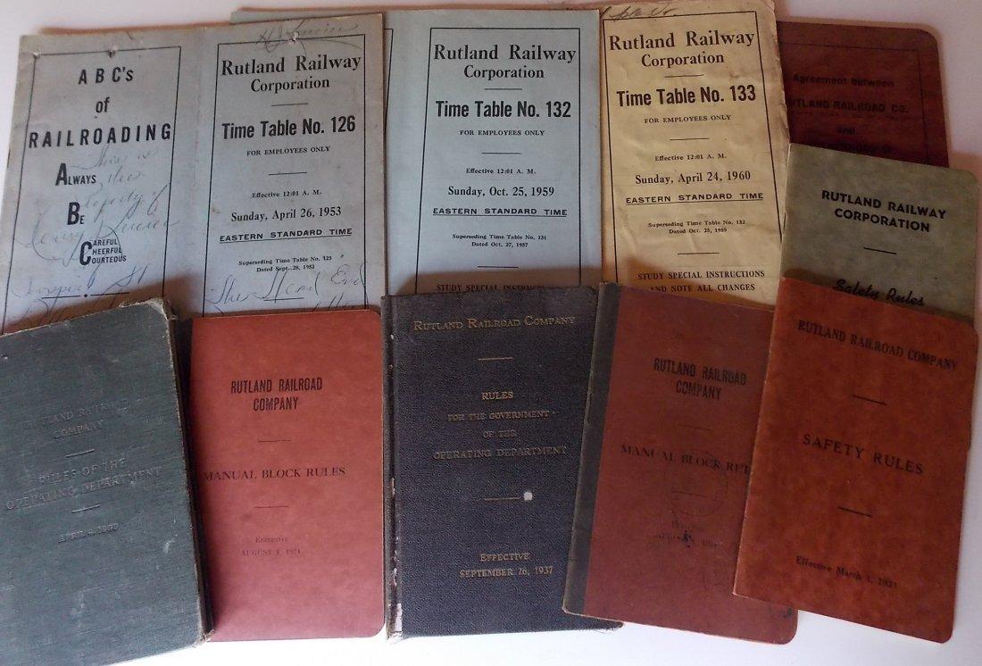 Rutland Railroad Employee Reference (10)