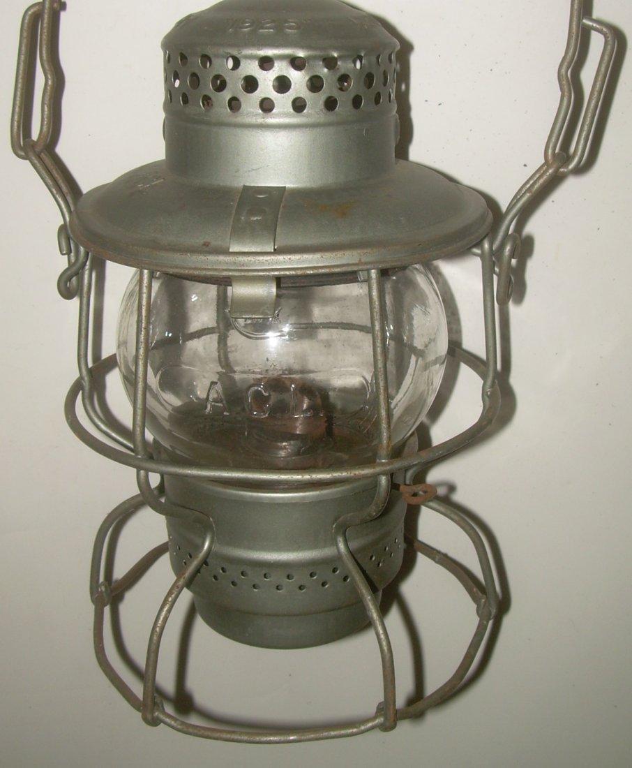 Atlantic Coast Line Cast Short Globe Lantern