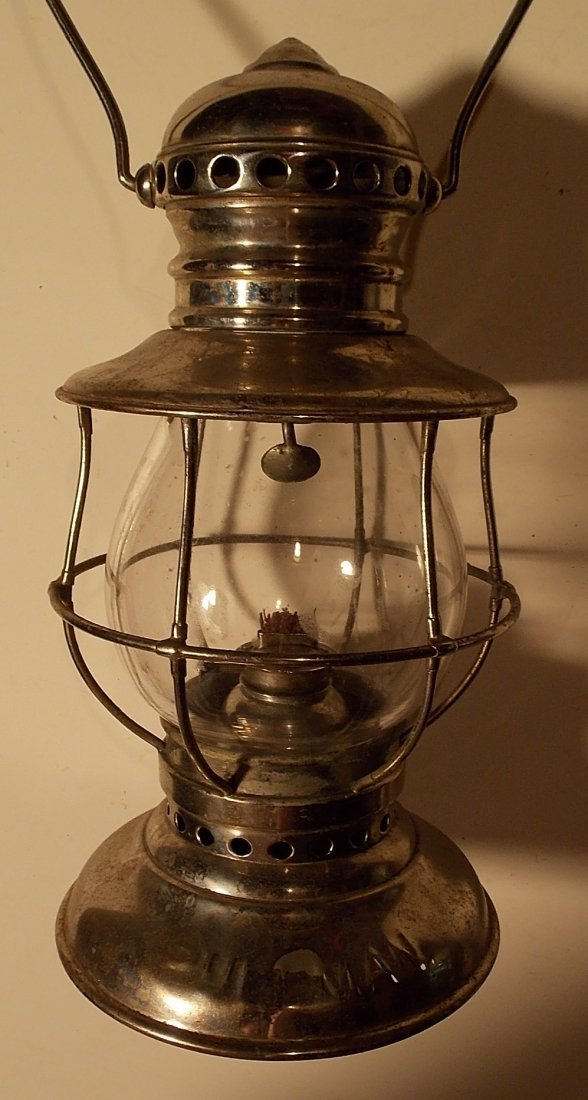 Adams & Westlake Conductor Lantern PCo Globe