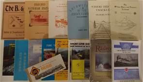 Soft Cover Railroad Books  North East 16