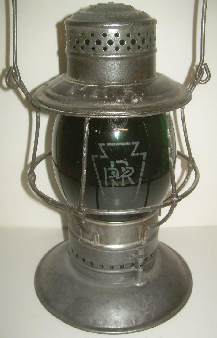 Pennsylvania RR A&W Bellbottom Lantern GREEN