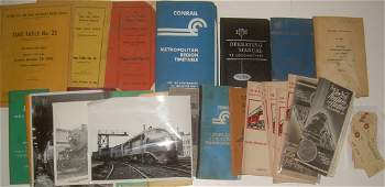 Group lot of Employee related timetables & other
