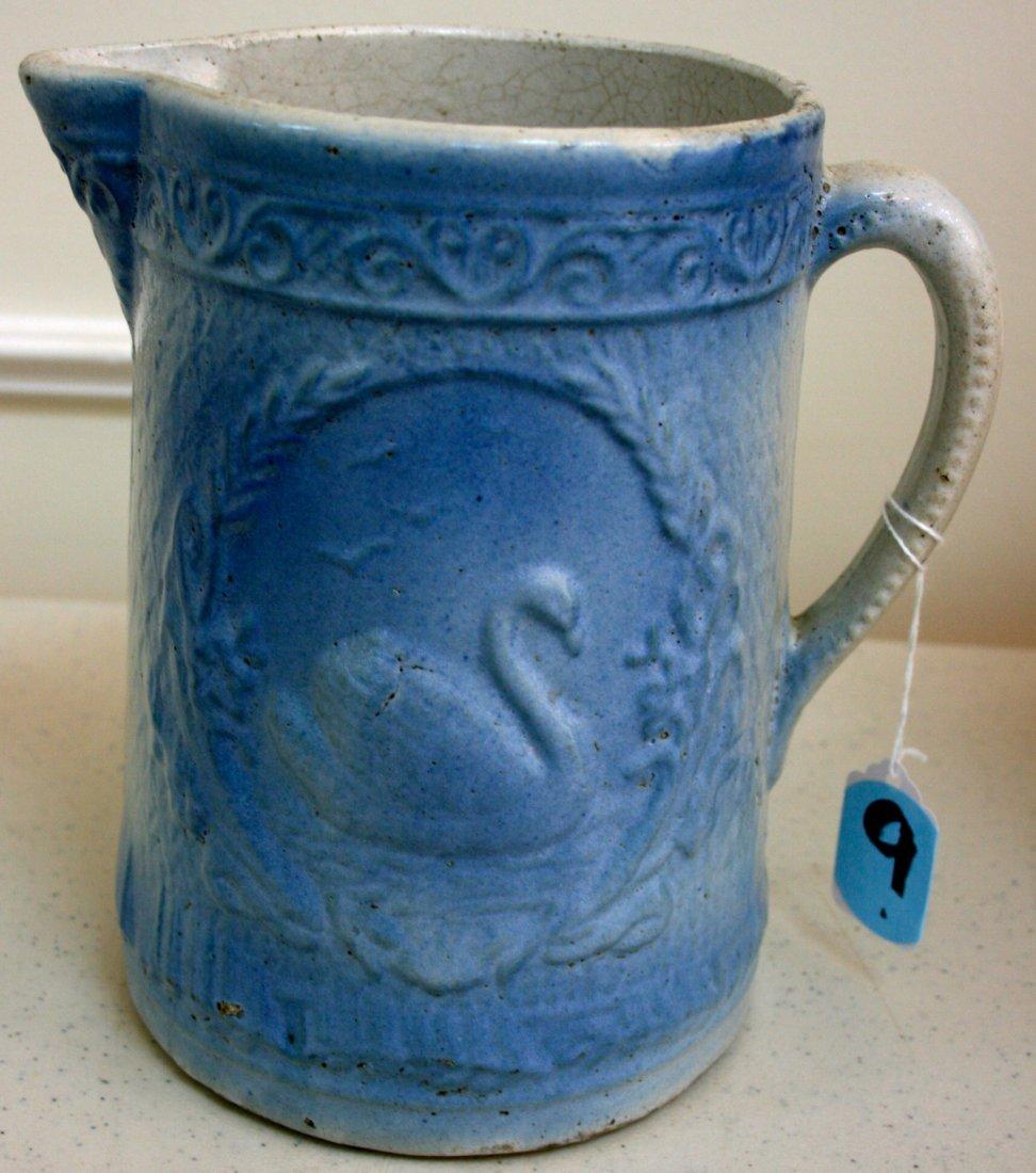 Blue & white Stoneware milk Pitcher